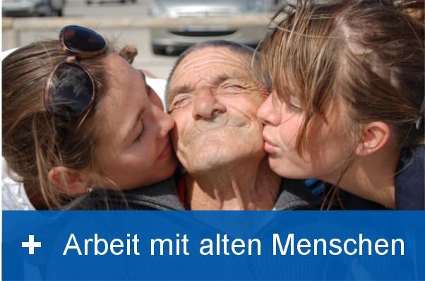 Arbeit mit alten Menschen