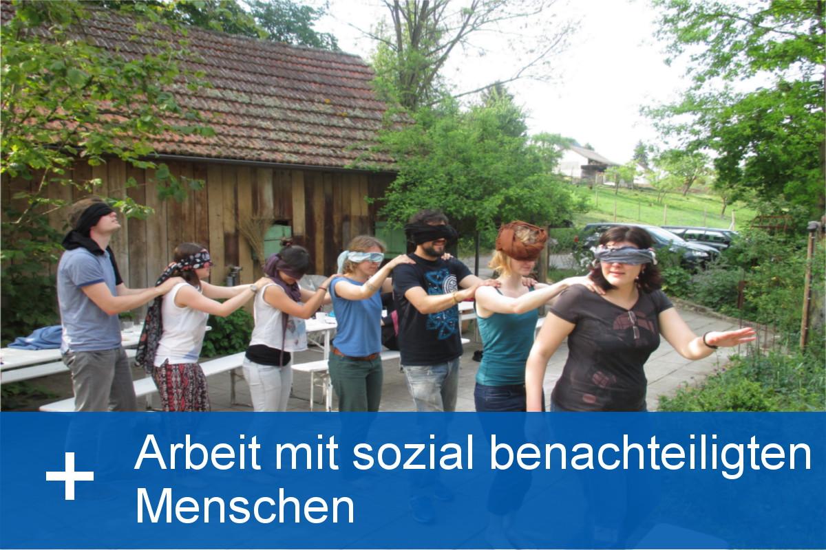 Arbeit mit sozial benachteiligten Menschen