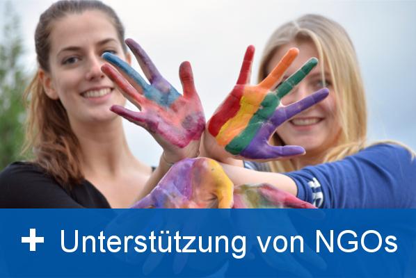 Unterstützung von NGOs