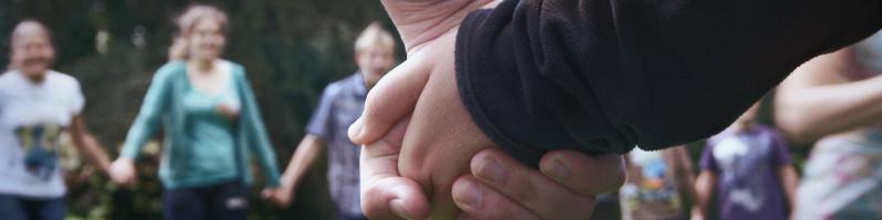 Menschen im Projekt Hand in Hand