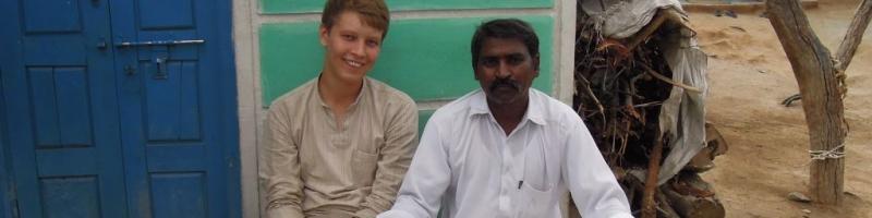 Freiwilliger in Indien 2011