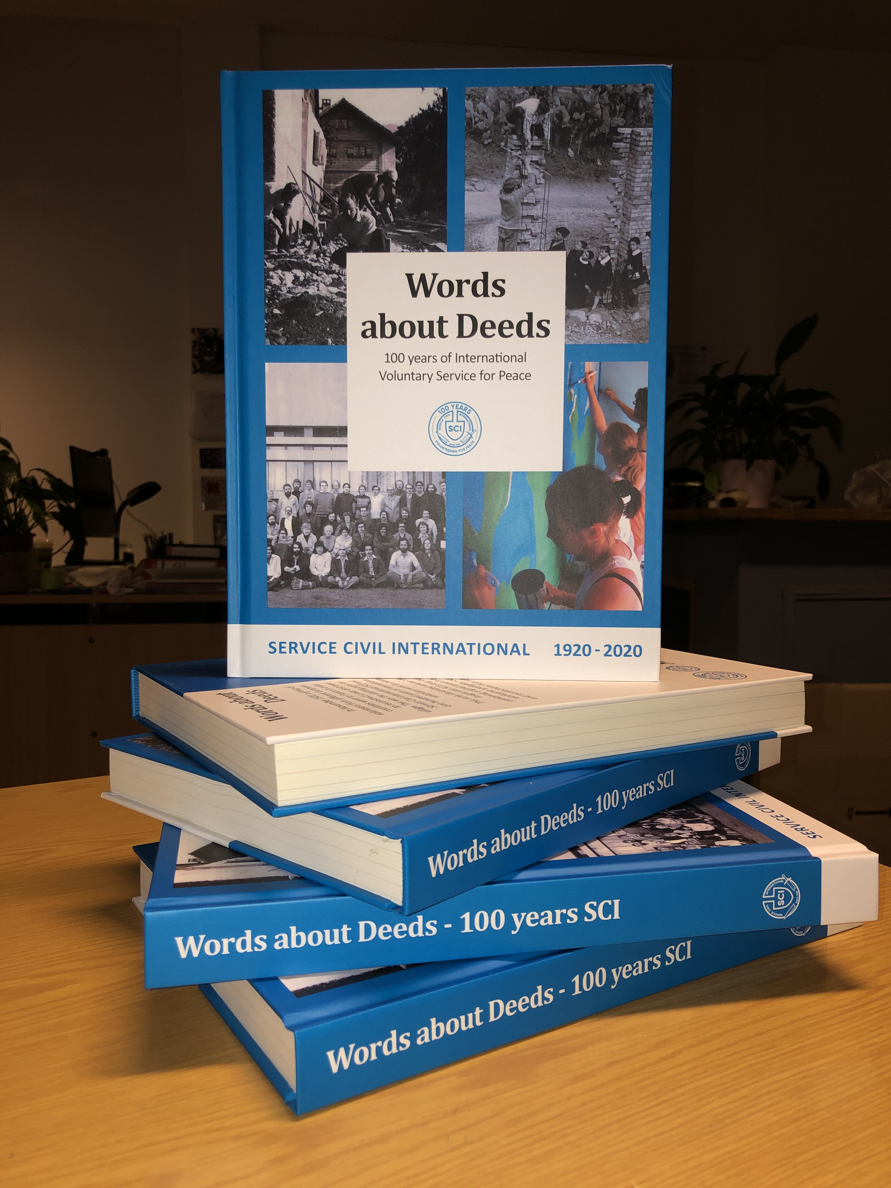 Buch Words about Deeds